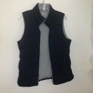 Marc New York quilted puffer vest jacket large